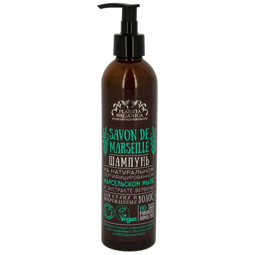 Купить Шампунь для волос PLANETA ORGANICA SAVON для сухих и поврежденных волос 400 мл, РОССИЯ/ RUSSIA