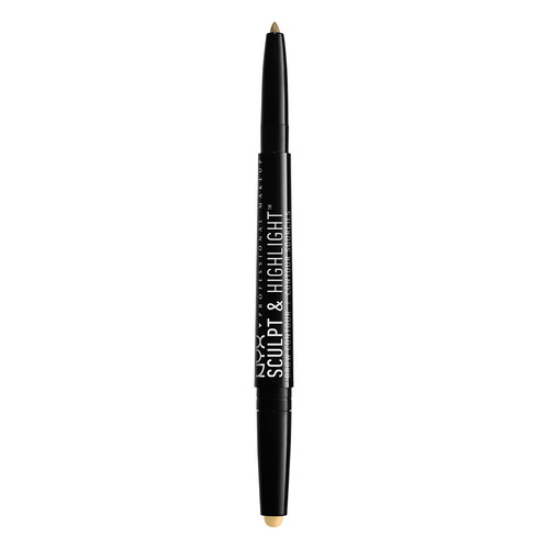 Карандаш для бровей `NYX PROFESSIONAL MAKEUP` SCULPT & HIGHLIGHT BROW CONTOUR тон 01 Ivory