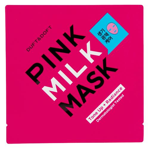 Маска для лица DUFT & DOFT PINK MILK MASK для сияния кожи 27 мл фото