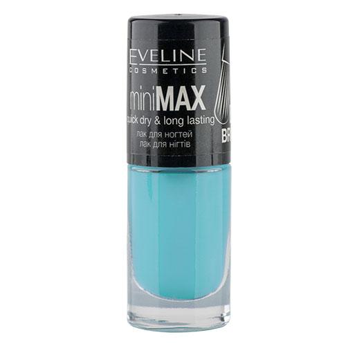 Лак для ногтей `EVELINE` MINI MAX тон 108 5 млЛаки<br>Лак для ногтей Mini Max PERFECT BRUSH miniMAX quick dry &amp; long lasting<br>