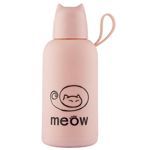 Купить Бутылка для воды FUN MEOW Pink 300 мл, КИТАЙ/ CHINA