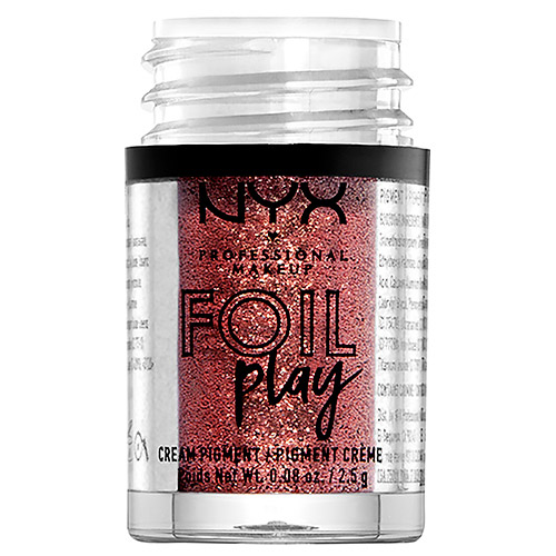 Пигмент для век `NYX PROFESSIONAL MAKEUP` FOIL PLAY кремовый тон 12