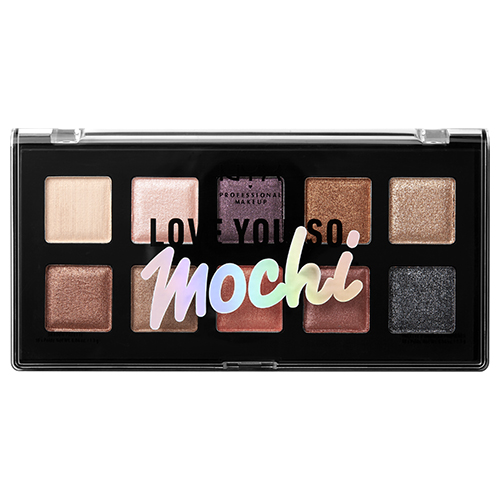 Палетка теней для век `NYX PROFESSIONAL MAKEUP` LOVE YOU SO MOCHI