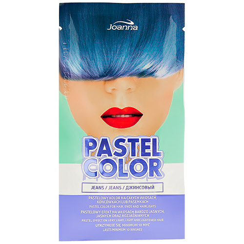 Оттеночный шампунь для волос JOANNA PASTEL COLOR тон джинсовый 35 г