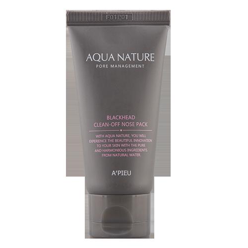 Маска-пленка для лица APIEU AQUA NATURE для очищения пор 50 млМаски<br>Маска-пленка эффективно очищает поры от себума и различных загрязнений. Предназначена для локального применения в области носа, однако допустимо использовать маску на коже подбородка,  Т-зоны.<br>