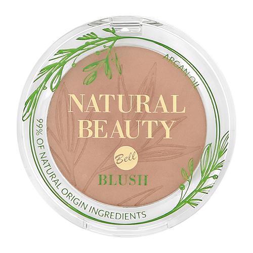 Румяна для лица BELL NATURAL BEAUTY BLUSH тон pure mauve 99% натуральных ингредиентов