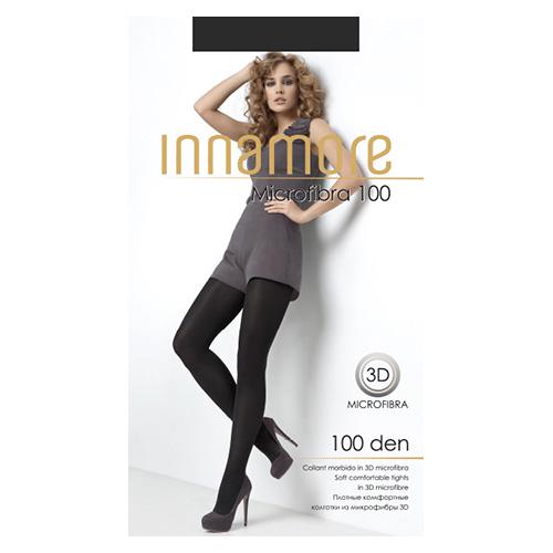 Колготки женские INNAMORE MICROFIBRA 100 den тон Grigio р-р 4 фото