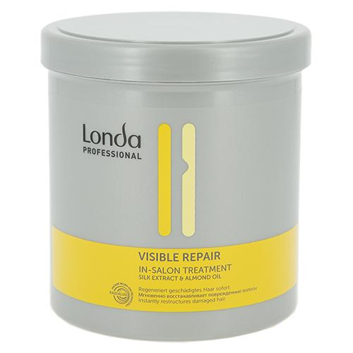 Маска для волос `LONDA PROFESSIONAL` VISIBLE REPAIR (для восстановления поврежденных волос с пантенолом) 750 млМаски<br>Мгновенно восстанавливает и питает поврежденные волосы. Укрепляет волосы, придает невероятную мягкость и блеск.<br>