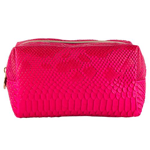 Косметичка большая проямоугольная `LADY PINK` PYTHON малиноваяКосметички<br>Косметичка Lady Pink - стильное и удобное решение для хранения косметики. Большой выбор косметичек разных форм и размеров, а также ярких дизайнов позволит легко выбрать ту, которая подходит именно тебе.<br>