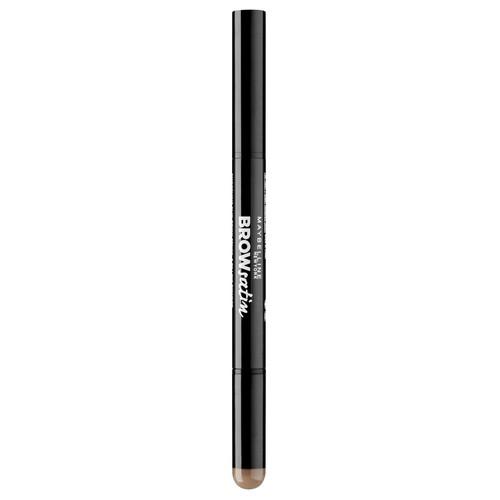 Тени-карандаш для бровей MAYBELLINE BROW SATIN тон 02 medium brown
