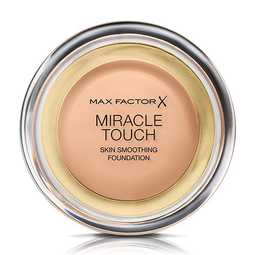 Крем тональный для лица `MAX FACTOR` MIRACLE TOUCH тон 45 (warm almond)Тональные средства<br>Тональный крем для безупречного макияжа, выравнивает и улучшает внешний вид кожи, обеспечивает равномерное гладкое покрытие.<br>
