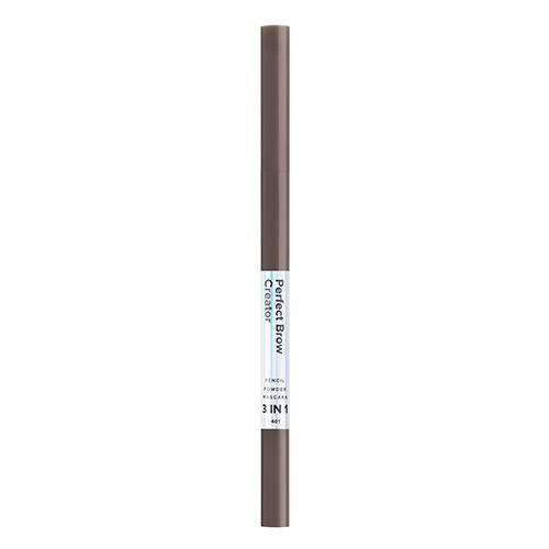 Карандаш для бровей LAMEL PROFESSIONAL PERFECT BROW CREATOR 3 в 1 тон 401
