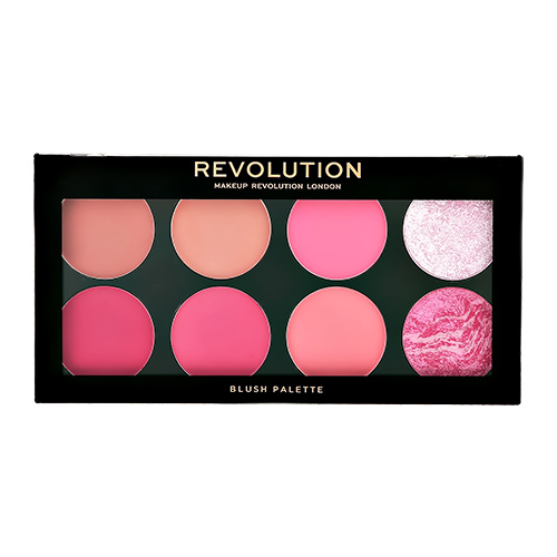 Палетка румян для лица `REVOLUTION` ULTRA BLUSH тон sugar & spice