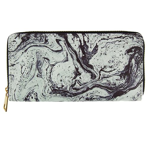 Кошелек `LADY PINK` ART черно-белый мраморПрочее<br>Яркие кошельки Lady Pink прекрасно дополнят женскую сумочку и позволят Вам выглядеть стильно и модно при любых обстоятельствах!<br>