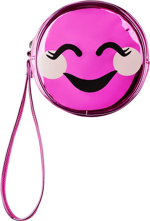 Косметичка круглая SMILE `LADY PINK` UNUSUAL малиноваяКосметички<br>Косметичка Lady Pink - стильное и удобное решение для хранения косметики. Большой выбор косметичек разных форм и размеров, а также ярких дизайнов позволит легко выбрать ту, которая подходит именно тебе.<br>