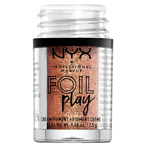 Пигмент для век `NYX PROFESSIONAL MAKEUP` FOIL PLAY кремовый тон 04