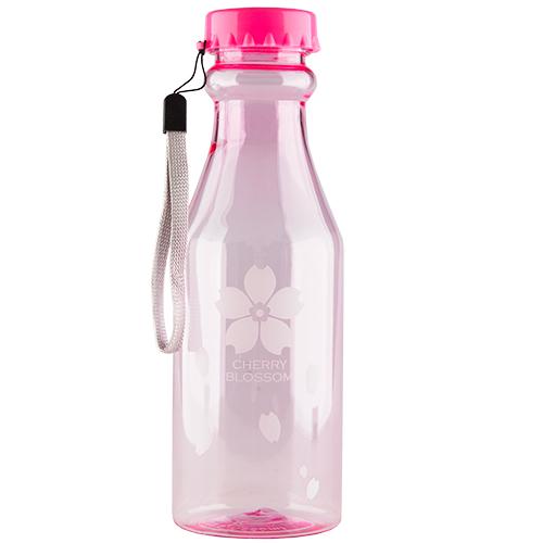 Купить Бутылка для воды FUN прозрачная pink 550 мл, КИТАЙ/ CHINA