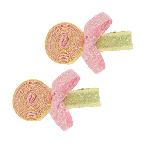 Набор заколок `MISS PINKY`Наборы<br>Аксессуары для волос MISS PINKY подчеркнут красоту прически вашей маленькой модницы.<br>