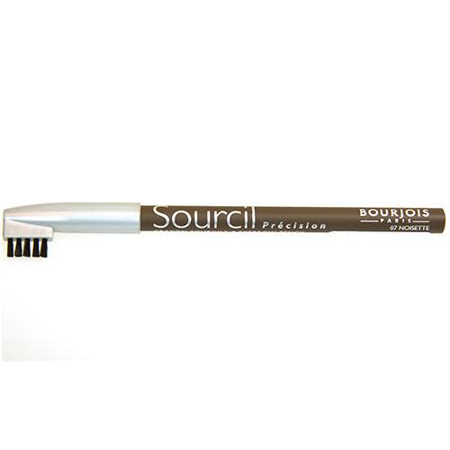 Карандаш для бровей `BOURJOIS` SOURCIL PRECISION с расческой тон 07Карандаш для бровей<br>Брови играют решающую роль в характере взгляда. Плотная текстура карандаша позволяет наполнить брови красивым, натуральным цветом. Идеальная щеточка придает бровям безупречный вид.<br>Карандаш Sourcil Precision не растекается и позволяет при желании изменить форму брови.<br>