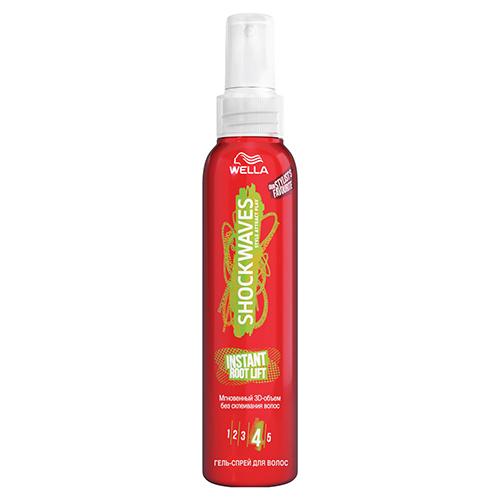 Купить Гель-спрей для волос WELLA SHOCKWAVES Instant root lift 150 мл, ФРАНЦИЯ/ FRANCE