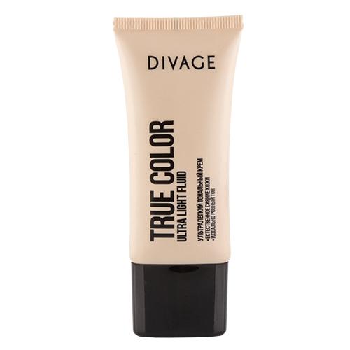 Крем тональный для лица `DIVAGE` TRUE COLOR тон 01Тональные средства<br>Невидимая и лёгкая тональная основа с прозрачной водянистой текстурой эффективно увлажняет и освежает кожу. Влага наполняет клетки и хорошо удерживается в поверхности кожи. Масло авокадо и витамины Е помогают клеткам кожи противостоять вредным воздействиям окружающей среды. Хорошо увлажнённая и защищённая кожа выглядит свежей, ухоженной и ровной без ощущения маски на лице.<br>