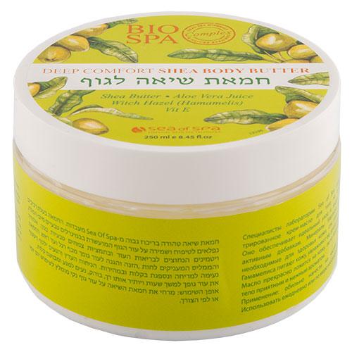 Крем-масло для тела SEA OF SPA BIOSPA с маслом ши и оливковым маслом 250 мл