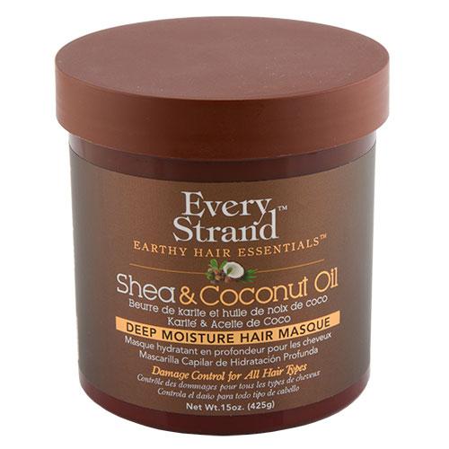 Купить Маска для волос EVERY STRAND с кокосовым маслом и маслом ши в банке 425 г, США/ USA
