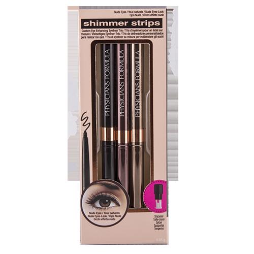 Набор карандашей для глаз PHYSICIANS FORMULA SHIMMER STRIPS 3 шт.
