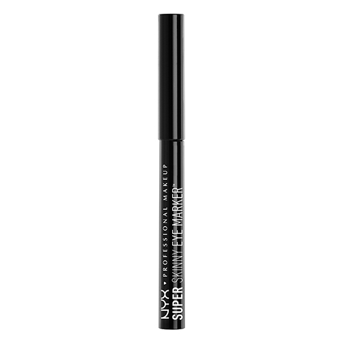 Подводка-фломастер для глаз `NYX PROFESSIONAL MAKEUP` SUPER SKINNY EYE MARKER Carbon black