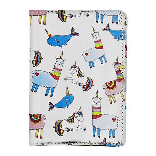 Купить Обложка для паспорта LADY PINK FUNNY ANIMALS, КИТАЙ/ CHINA