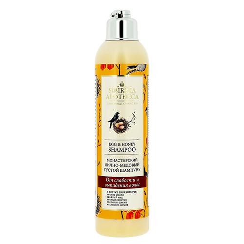 Купить Шампунь для волос SIBIRSKA APOTHECA Монастырский яично-медовый 250 мл, РОССИЯ/ RUSSIA