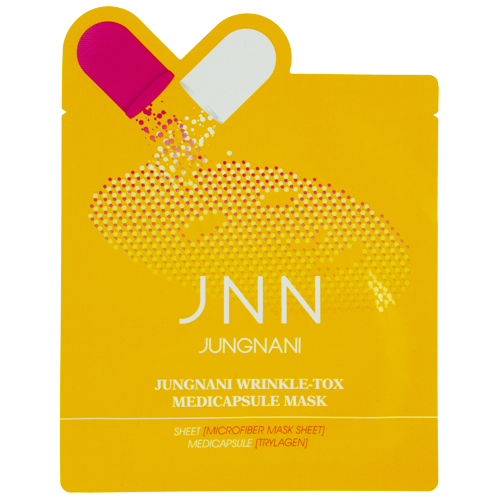 Маска для лица JNN против морщин 23 млМаски<br>Маска помогает эффективно бороться с морщинами и придает коже эластичность и упругость, благодаря гиалуронату натрия, который способствует активной регенерации клеток эпидермиса, делает кожу невероятно гладкой и нежной. Гиалуронат натрия создает на коже невидимый барьер, препятствующий испарению влаги, улучшает структуру кожи.<br>Пропитанная эссенцией маска, созданная из волокна микрофибры, идеально прилегает к коже лица, что позволяет полезным ингредиентам легко проникать в клетки эпидермиса.<br>