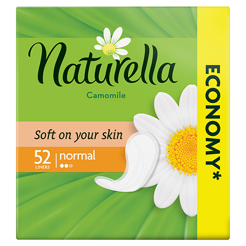 Прокладки ежедневные NATURELLA Normal Camomile 52 шт