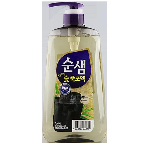Купить Средство для мытья посуды СУНСЭМ Бамбуковый уголь 983 мл, РЕСПУБЛИКА КОРЕЯ/ REPUBLIC OF KOREA