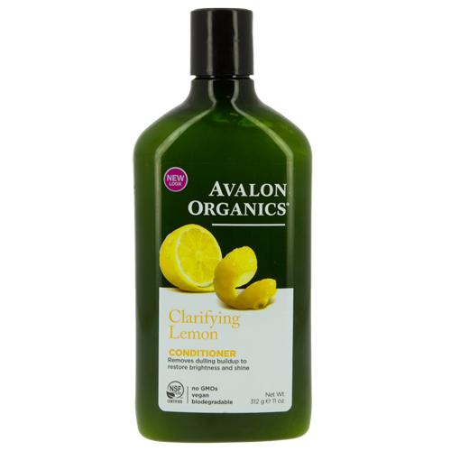 Кондиционер для волос AVALON ORGANICS с маслом лимона для увеличения блеска волос 312 гБальзамы и ополаскиватели<br>Эффективно сглаживает, герметизирует кутикулу поверхностного слоя, насыщая структуру волос питательной влагой, предотвращает потерю естественного пигмента.<br>