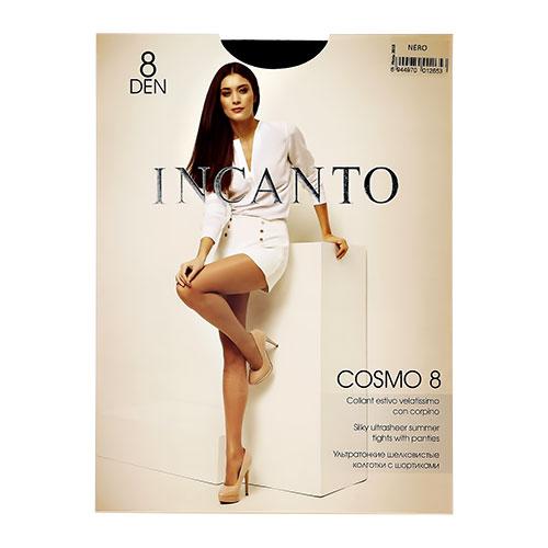 Колготки женские INCANTO COSMO 8 den тон Nero р-р 4 фото