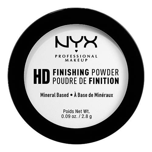 Пудра компактная для лица `NYX PROFESSIONAL MAKEUP` HIGH DEFINITION FINISHING POWDER мини тон 01 Translucent