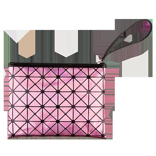 Косметичка LADY PINK HOLOGRAPHIC прямоугольная розоваяКосметички<br>Косметичка Lady Pink - стильное и удобное решение для хранения косметики. Большой выбор косметичек разных форм и размеров, а также ярких дизайнов позволит легко выбрать ту, которая подходит именно тебе.<br>