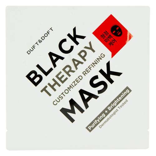 Маска для лица DUFT & DOFT BLACK MASK очищающая 28 мл фото