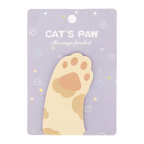 Стикеры фигурные `FUN` CATS PAW violet