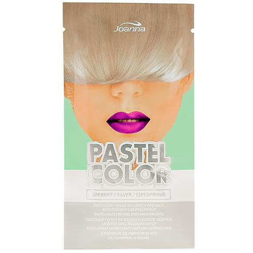 Оттеночный шампунь для волос JOANNA PASTEL COLOR тон серебряный 35 г
