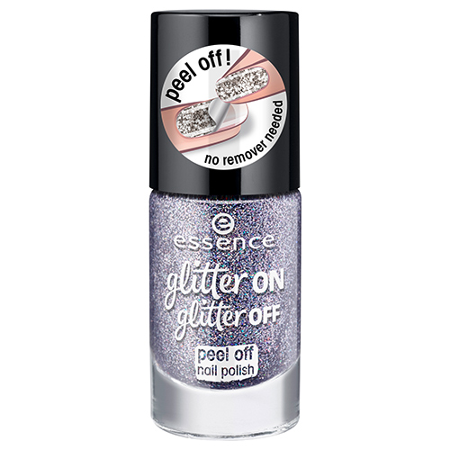 Лак для ногтей `ESSENCE` GLITTER ON GLITTER OFF тон 05 8 мл
