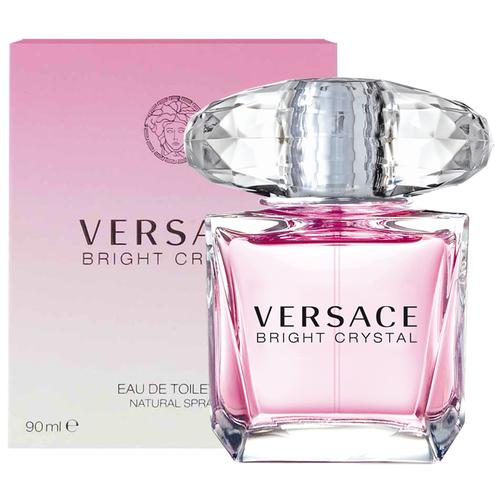 Туалетная вода `VERSACE ` BRIGHT CRYSTAL жен. 90 млЖенская<br>Versace представляет аромат Bright Crystal, явление редкой красоты с оттенками свежих, вибрирующих, цветочных нот. Всепоглощающая страсть, кристальная прозрачность, яркое великолепие. Манящий и роскошный аромат для женщины Versace, сильной и уверенной, и в то же время очень женственной и чувственной, и всегда эффектной. Аромат: Цветочный, фруктовый, мускусный. ВЕРХНИЕ НОТЫ: Гранат, Юзу, Ледяной аккорд; СРЕДНИЕ НОТЫ: Магнолия, Пион, Лотос; ШЛЕЙФ: Красное дерево, Мускус, Амбра.<br>