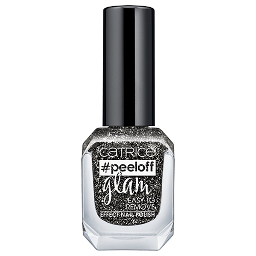 Лак для ногтей `CATRICE` PEELOFF GLAM тон 04 Girls Bite Black