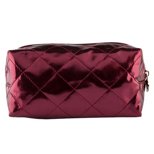 Косметичка `LADY PINK` METALLIC бордоваяКосметички<br>Косметичка Lady Pink - стильное и удобное решение для хранения косметики. Большой выбор косметичек разных форм и размеров, а также ярких дизайнов позволит легко выбрать ту, которая подходит именно тебе.<br>