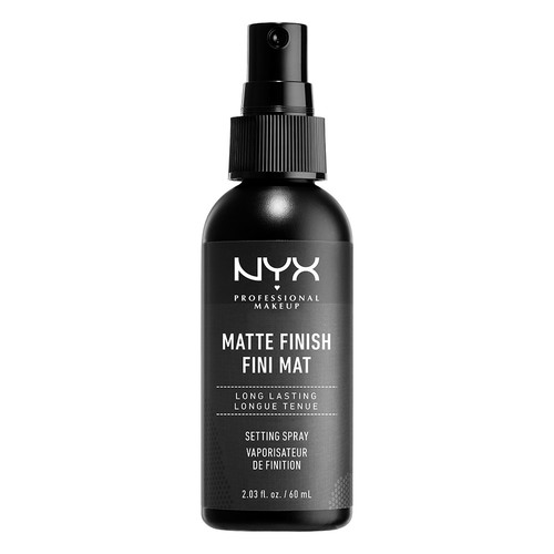 Спрей-фиксатор макияжа NYX PROFESSIONAL MAKEUP MATTE FINISH SETTING SPRAY матирующий 60 мл.