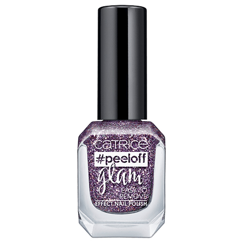 Лак для ногтей `CATRICE` PEELOFF GLAM тон 06 Dance All Night Sparkle All Day