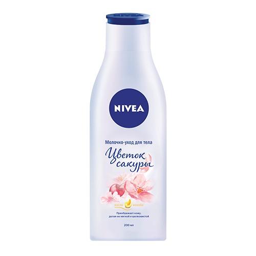 Молочко-уход для тела NIVEA Цветок сакуры 200 мл