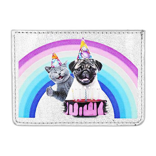 Кардхолдер LADY PINK Собака с кошкой фото