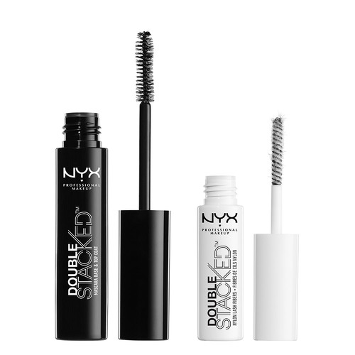 Тушь для ресниц `NYX PROFESSIONAL MAKEUP` DOUBLE STACKED тон 01 (black)